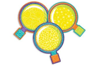 Eureka Colour My World Magnifying Glass Asst Paper Cut Outs