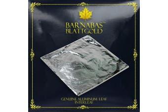 Imitation Silver Leaf 1000 Sheets,16cm Interleaved