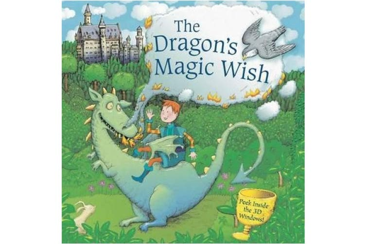 The Dragon's Magic Wish: Peek Inside the 3D Windows!