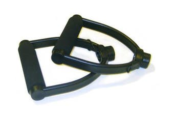 STOTT PILATES Flex-Band Handles (Black), Pair