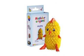 Modular Origami 277-Piece Small Chickling Paper Set, Multi-Colour