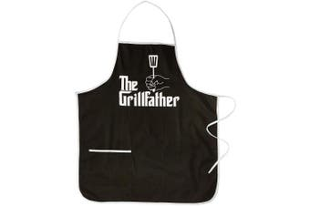 (The Grillfather) - Spoontiques The Grillfather Apron, Black