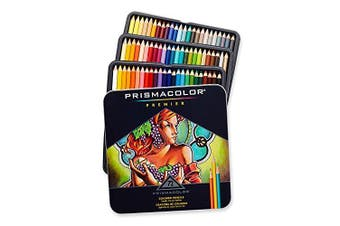 Prismacolor Premier Coloured Pencils, Soft Core, 72 Pack