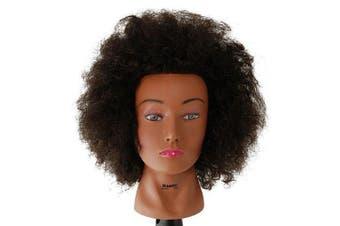 Budget Naomi Afro Manikin 50cm Brown by Celebrity