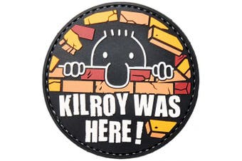5ive Star Gear Kilroy Morale Patch, Multi-Colour, One Size