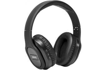 Groov-e GVBT1000BK Elite Wireless Bluetooth Headphones with Active Noise Cancelling - Black