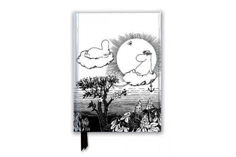 Moomin and Snorkmaiden from Finn Family Moomintroll (Foiled Journal) (Flame Tree Notebooks)