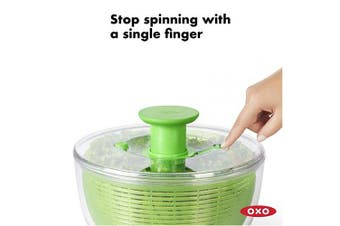 OXO 1155901 Good Grips Green Salad Spinner, Large