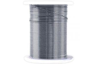 CraftMedley Beading & Jewellery Wire, 10m, 28g, Metallic Silver
