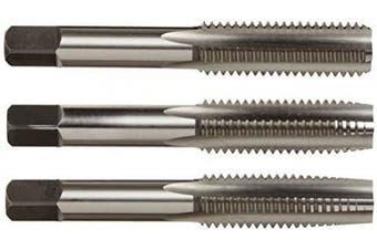 Alfa Tools CSHTS70532 1/4-20 Carbon Steel Hand Tap Set Taper/Plug/Bottom
