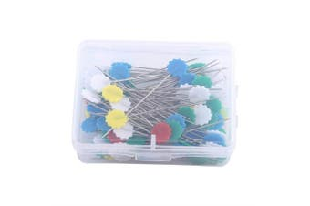 (Flower 1) - Akozon DIY Sewing Patchwork pins Quilting Tool Set of 100pcs(Flower 1)