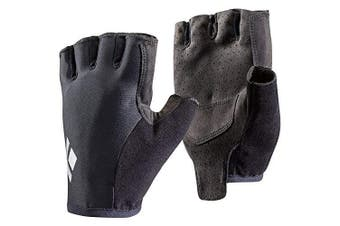 (Black, Small) - Black Diamond Trail Gloves