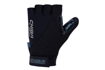(Medium, Black) - Chiba Argon Ii Gloves