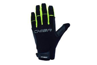 (Large, Black) - Chiba Gel Protect Pro Gloves