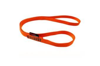 (Fluorescent Orange, 60cm / 24inch | Single Unit) - GM CLIMBING 16mm Nylon Sling Runner 22kN/2200kg