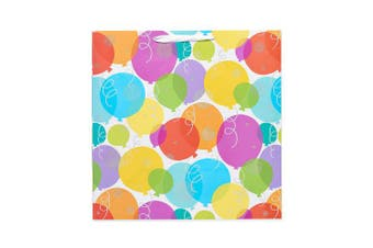 (Jumbo Square, Colorful Balloons) - American Greetings Birthday Gift Bag, X-Large, Multicolor