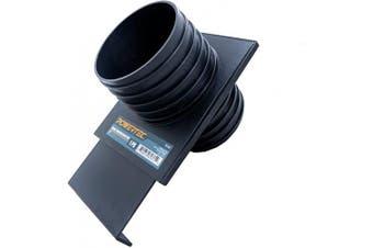 (10cm , Double Threaded) - POWERTEC 70192 Double Threaded Blast Gate, 10cm