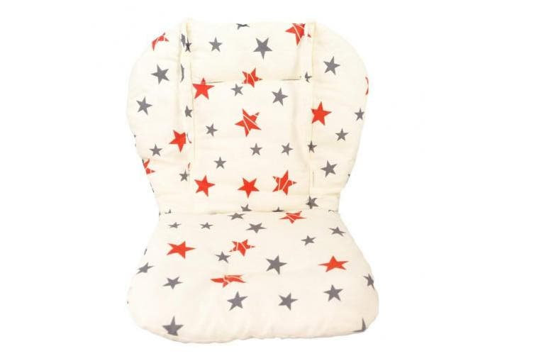 Baby Stroller/Car / High Chair Seat Cushion Liner Mat Pad Cover Protector Breathable(Star)