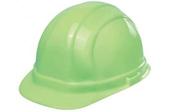 (Glow in the Dark) - ERB 19902 Omega II Cap Style Hard Hat with Mega Ratchet, Glow in the Dark