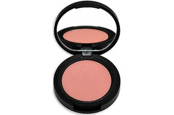 (Dusty Rose) - Best Organic 100% Natural Non-GMO Vegan Pressed Powder Blush for Face, Made in USA by BaeBlu, Dusty Rose