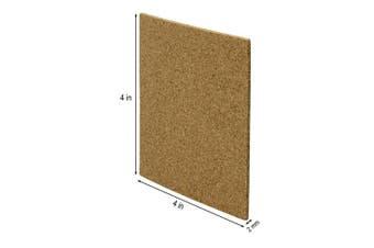 (80) - Blisstime 80 Pcs Self-Adhesive Cork Sheets 10cm x 10cm for DIY Coasters, Square Cork Coasters, Cork Tiles, Cork Mats, Mini Wall Cork Tiles with Strong Self Adhesive Backing