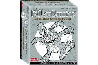 KILLER BUNNIES STAINLESS STEEL BOOSTER DECK- NEW CARDS!