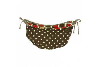 Cotton Tale Houndstooth Toy Bag