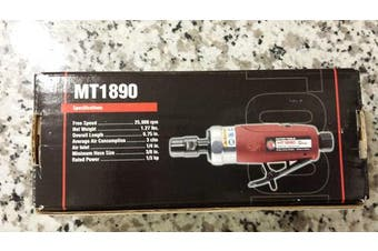 Brand New MATCO TOOLS MT1890 HD Straight Die Grinder Air Tool