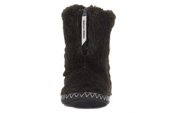 (3/4 UK, Charcoal) - Bedroom Athletics Women's Marilyn Slipper Boots