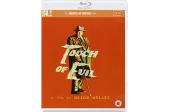 Touch of Evil - The Masters of Cinema Series [Region B] [Blu-ray]
