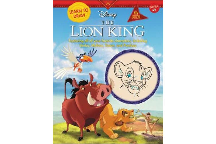 Learn to Draw Disney the Lion King: New Edition! Featuring All of Your Favorite Characters, Including Simba, Mufasa, Timon, and Pumbaa (Learn to Draw)