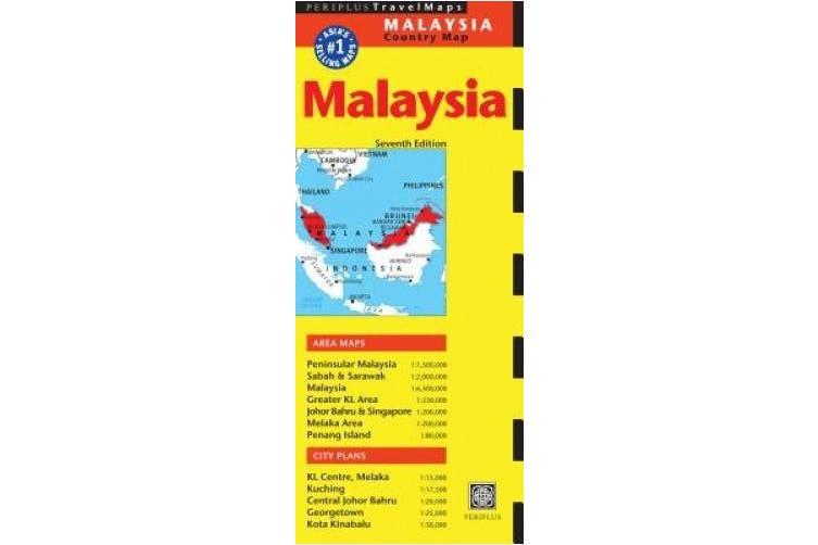 Malaysia Travel Map