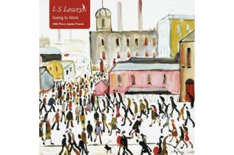 Adult Jigsaw Puzzle L.S. Lowry: Going to Work: 1000-piece Jigsaw Puzzles (1000-piece Jigsaw Puzzles)