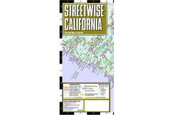 Streetwise Map California - Laminated City Center Street Map of California: City Plans (Michelin City Plans)