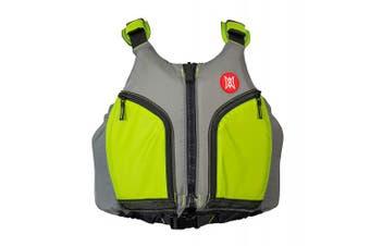 Perception Kayak Hi-fi Life Jacket (PFD) - XL/2XL, Green/Grey, X-Large/XX-Large
