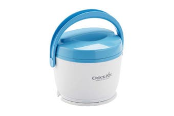 (Blue) - Crock-Pot Lunch Crock Food Warmer, Blue
