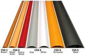 "(CSX-5 - 36"", Brown) - Cable Shield Cord Cover - Model: CSX-5 - Length: 90cm - Colour: Brown"