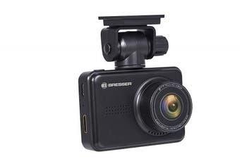 Bresser Full HD Dashboard Car Camera Dashcam 3MP Camera with Day/Night Vision 140 Degree + G-Sensor +