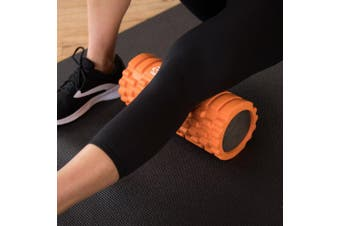 (Orange) - 321 STRONG Foam Roller - Medium Density Deep Tissue Massager for Muscle Massage and Myofascial Trigger Point Release, with 4K eBook