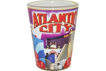 (Atlantic City) - American Cities and States of Cool Shot Glass's (Atlantic City)
