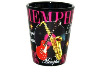 (Memphis) - American Cities and States of Cool Shot Glass's (Memphis)