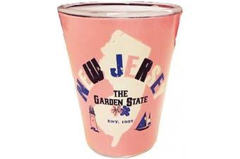(New Jersey) - State of New Jersey Souvenir Shot Glass