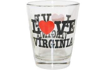 (Virginia) - Love Virginia Souvenir Shot Glass