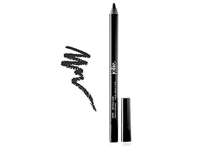 Jolie Super Smooth Gel Crayon Eyeliner Pencil - Noir Black