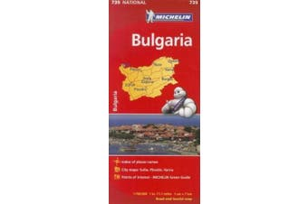 Michelin Bulgaria (Michelin Maps)