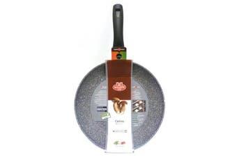 (26 cm) - Ballarini Cortina Granitium Frying Pan, Aluminium, Grey 26 cm grey