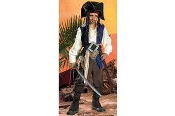 (Small(4-6)) - Costumes For All Occasions DG5552L Jack Sparrw Qualty Chd 4 To 6