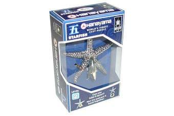 Bepuzzled Hanayama Level 2 Cast Puzzle - Starfish