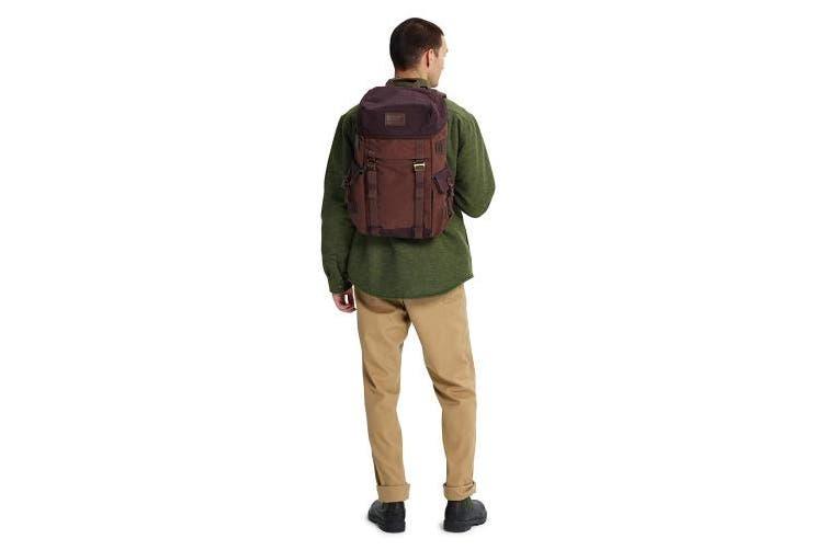 Burton Men's Annex Pack Rose Brown FLT Satin Daypacks