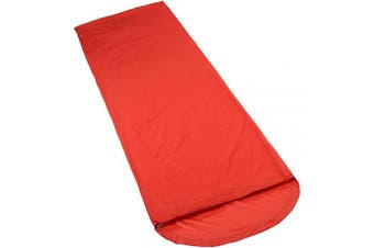 (Glowing Red, 82x210x55) - Vaude Biwak 1.2 – Bivi Bag/Sack Cover